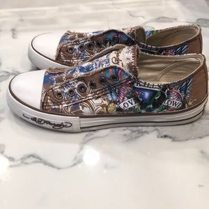 Ed Hardy Shoes - Ed hardy love kills Don Ed Hardy designs sz 7